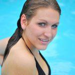 Makijaż na basenie